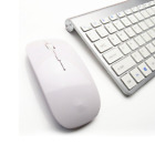 keyboard and computer - Ultra-thin Mini Keyboard Suit 2.4G Wireless Keyboard and Mouse For PC Computer