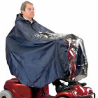Mobility Scooter Lightweight Waterproof Cape Navy Universal Size