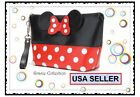 perfect girlfriend gift - Perfect Girlfriend GIFT, NEW MINNIE MOUSE Polka Dot COSMETIC BAG PURSE MICKEY,US