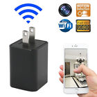 Spy Camera Adapter Charger AC Wall Phone Wireless WiFi Hidden Cam 1080P Clever