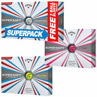 2018 CALLAWAY SUPERSOFT GOLF BALLS - WHITE 15 pack OR YELLOW doz PACK - NEW