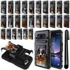 """For Samsung Galaxy S8 ACTIVE G892A 5.8"""" Dog Hybrid Rugged Stand Case Cover + Pen"""