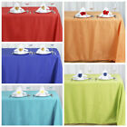 """90x156"""" Polyester Tablecloth Wedding Table Linens Catering Decorations Supply"""