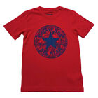 Converse Boys T-Shirt Big Swirly Logo Ages 8-10 Years and 10-12 Years