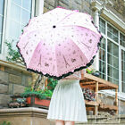 Anti UV Umbrella Sun Rain Fashion Lacework Princess Mini Folding Umbrella