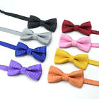 Fashion Cute Solid Children Kids Dot Print Bow Tie Boys Bowtie Wedding Party 1PC