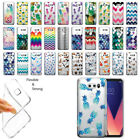 "For LG V30 V30+ Plus 6"" H930 VS996 H931 Pineapple Clear Soft Gel TPU Case Cover"