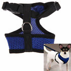 dog harnesses for pulling - For Small Pet Cat Dog Soft Mesh Harness No Pull Comfort Padded Vest New US Stock