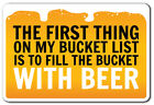 sign language vocabulary list - FIRST THING ON BUCKET LIST BEER Sign list drink beer vacation 14