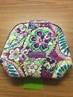 NWT Vera Bradly Disney Medium Zip Cosmetic Case Bag in Plums Up Mickey QQ