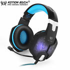 EACH G1000 PC Gaming Bass Stereo Headset Microphone LED Laptop Computer lot A