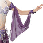 11 Colors Wholesale Belly Dance Accessories 1 Piece Arm Sleeves Wrist Adjustable