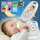 "2"" LCD Wirless Digital Video Baby Monitor Camera Night Vision Audio 2.4GHZ"