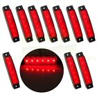 5Pair Indicator Red Light Side Marker 6Led for Van Truck Trailer Truck