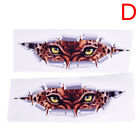 2PCS Eyes Monster 3D Auto Accessories Car Sticker Peeking Cat Eye Sticker NewLK
