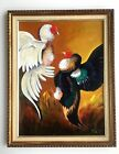VINTAG OIL PAINTING ON CANVAS 24 in x 18 in