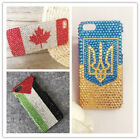 Bling Customized National Flag/Banner/LOGO Phone Case Cover for Various Phone