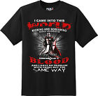 Came in to  this world Patriotic Freedom American T Shirt  New Graphic Tee  image