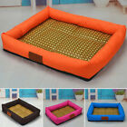 New Pet Dog Cat Bed Puppy Cushion House Soft Cooling Kennel Mat Pad Summer S-XL