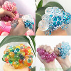 Glitter Squishy Mesh Grape Ball Squeeze Vent Toys Anti-Stress Relief Kids Gift on eBay