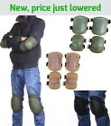 Adjustable Knee Elbow Pad Protection Gear for Airsoft Skate Rollerblade