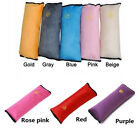 Car Safety Seat Belt Pillow Strap Pad Cushions Head Supports Child Kid Adjuster