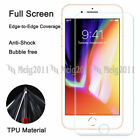 """Full Cover Soft TPU Screen Protector Film for Apple iPhone 8 Plus, 7 Plus (5.5"""")"""