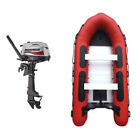 Waveline Inflatable 4M Sport Boat With Aluminium Dinghy Engine Package