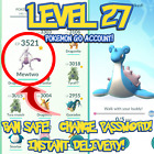 POKEMON-GO ACCOUNTS LEVEL 27 | RARE | BAN SAFE | INSTANT DELIVERY <br/> ✅SAFEST ON EBAY ✅LOTS OF ACCOUNTS ✅AUTO DELIVERY