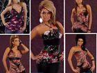 Sexy New Patterned Clubwear Evening Occasion Party Tops - Available In 5 Styles