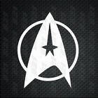 Star Trek Emblem Star Fleet LOGO Decal Car Window Vinyl Decal Sticker laptop V2 on eBay