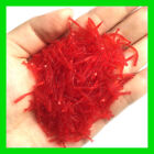 50pcs/lot 2cm Smell red worm lures soft bait worms hot fishing takcle artificial