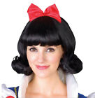 Halloween Cosplay Fancy Dress Princess Snow White Costume for Adult w/ Petticoat