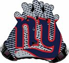 New York Giants Gloves Sticker Vinyl Decal / Sticker 5 sizes!!