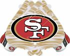 San Francisco 49ers Gloves Sticker Vinyl Decal / Sticker 5 sizes!!