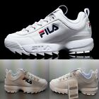FILA Disruptor2 Linear Shoes Athletic Running White FS1HTA3103X_WWT SZ 4-13 New