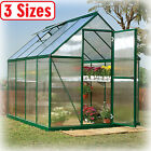 Greenhouse Kit 3 Sizes Portable Walk In Polycarbonate Panel Plant Outdoor Garden