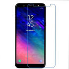 For Samsung Galaxy A3 5 6 7 8 Plus Accessory Tempered Glass Screen Protector 2pc