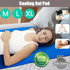 Magic Cold Cooling Pillow Chilled Laptop Gel Mat Pad Bed Chair Cool Sleeping Aid