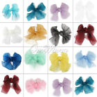 Wedding Multi-color Organza Chair Cover Sash Bow Party Reception Banquet Decor