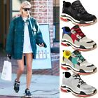 Womens Chunky Wedge Trainers Triple S Sneakers Platform Air Gym Sport Size UK