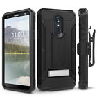LG Stylo 4 Case Evocel [Explorer Series Pro] Glass Screen Protector & Kickstand