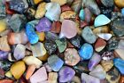 1 lb of Assorted Madagsacar Tumbled Stone Mix - Fantasia Rocks for Wire Wrapping