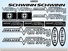 SCHWINN Stickers Decals Bicycles Bikes Cycles Frames Forks Mountain MTB BMX 54H