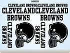 CLEVELAND BROWNS Stickers Decals American Football Team Sports Super Bowl 70F on eBay