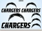 LOS ANGELES CHARGERS Stickers Decals American Football Team Super Bowl 70J $14.99 USD on eBay