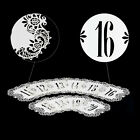 Shimmer Laser Cut Table Number Card Wedding Name Place Cards Centerpieces Decor