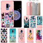 "For Samsung Galaxy S9 Plus / S9+ 6.2"" Slim Sparkling Light Pink TPU Case Cover"