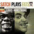 LOUIS ARMSTRONG - Satch Plays Fats - CD - Extra Tracks Original Recording NEW