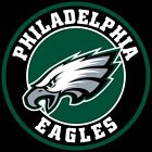 Philadelphia Eagles Circle Logo Vinyl Decal / Sticker 5 sizes!!
